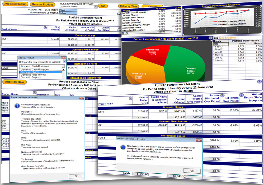 Click to View Full ScreenshotPortfolio Performance Monitoring 2.0 screenshot