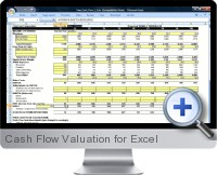 Cash Flow Valuation screenshot
