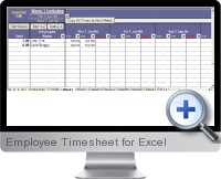 Employee Timesheet screenshot
