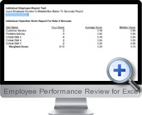 Employee Performance Review screenshot