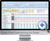 Cash Flow Forecasting screenshot