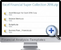 Financial Analysis Templates screenshot