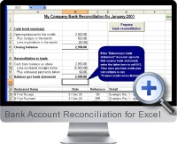 Bank Account Reconciliation screenshot
