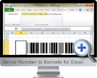 Serial Number to Barcode screenshot