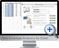 Data Envelope Analysis screenshot