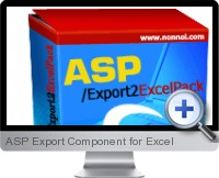 ASP Export Component screenshot