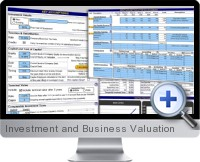 Investment and Business Valuation screenshot