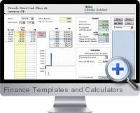 Finance Templates and Calculators screenshot