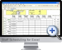 Staff Scheduling screenshot