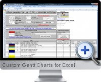 Custom Gantt Charts screenshot