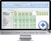 Business Value Calculation screenshot