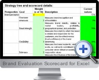 Brand Evaluation Scorecard screenshot