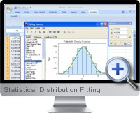 Statistical Distribution Fitting screenshot