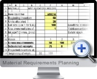 Material Requirements Planning screenshot