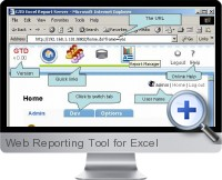 Web Reporting Tool screenshot