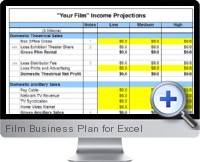 Film Business Plan screenshot