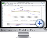 Macroeconomic Model screenshot