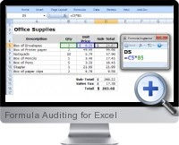 Formula Auditing screenshot