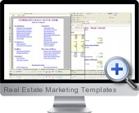 excel real estate marketing templates