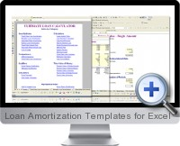 Loan Amortization Templates screenshot