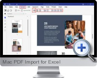 Mac PDF Import screenshot