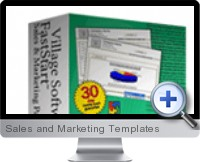 Sales and Marketing Templates screenshot