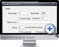 Batch Printing screenshot