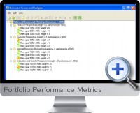 Portfolio Performance Metrics screenshot