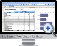 Six Sigma Templates screenshot