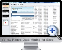 Yellow Pages Data Mining screenshot