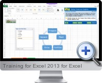 Training for Excel 2013 screenshot