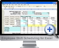 Employee Shift Scheduling screenshot