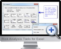 Risk Analysis Tools screenshot