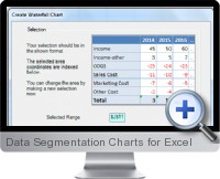 Data Segmentation Charts screenshot