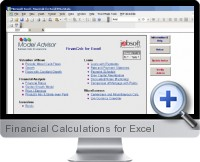 Financial Calculations screenshot