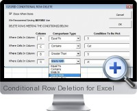 Conditional Row Deletion screenshot