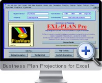 Business Plan Projections screenshot