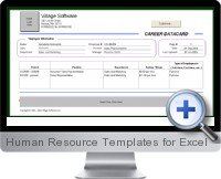 Human Resource Templates screenshot