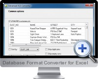 Database Format Converter screenshot